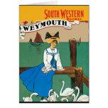 London South Western Railway Weymouth Card