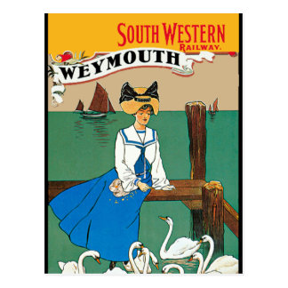 London South Western Railway Weymouth Post Cards