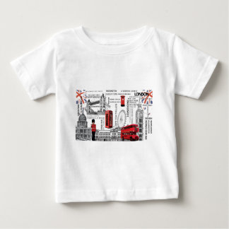 London souvenir merged.jpg baby T-Shirt