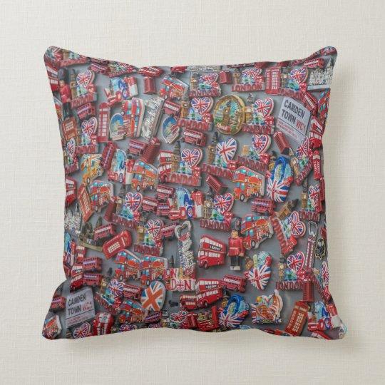 London souvenirs throw cushion