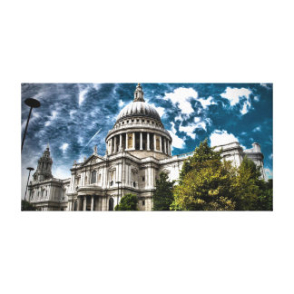 London St. Paul's Cathedral - Beautiful Colours Canvas Prints