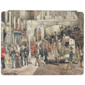 London Street, 1869 iPad Cover