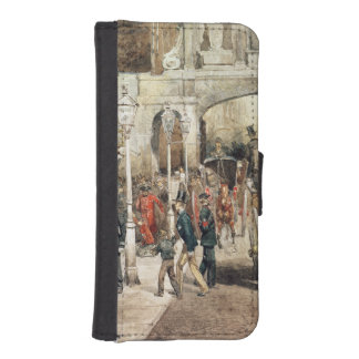 London Street, 1869 iPhone SE/5/5s Wallet Case