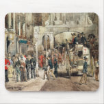London Street, 1869 Mouse Pads
