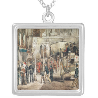 London Street, 1869 Silver Plated Necklace