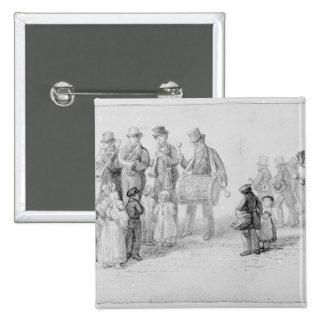 London Street Band, 1839 15 Cm Square Badge