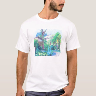 London Suburbia Painting T-Shirt