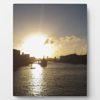London Sunset Display Plaque