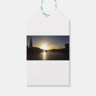London Sunset Gift Tags