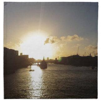 London Sunset Napkin