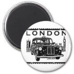 London Taxi 6 Cm Round Magnet