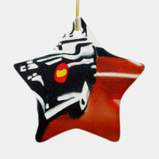 london taxi black cab design christmas ornament