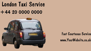 London taxi business cards zazzle uk london taxi business cards reheart Image collections