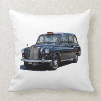London taxi cab throw pillow