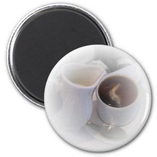 London Tea 6 Cm Round Magnet