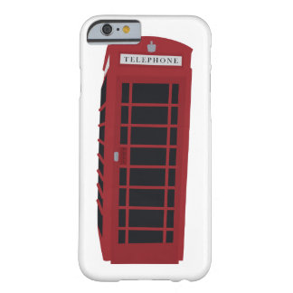 London Telephone Booth iPhone 6/6s Case Barely There iPhone 6 Case
