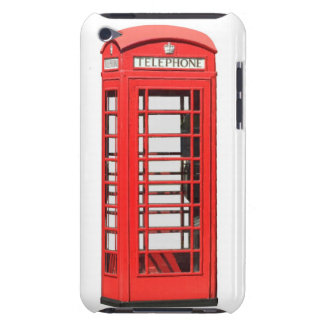 London telephone box barely there iPod covers