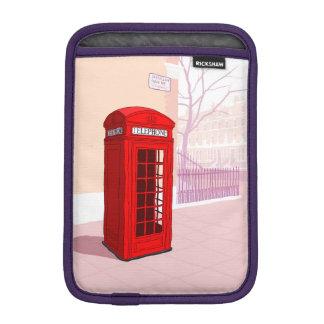 London Telephone box iPad Mini Sleeve