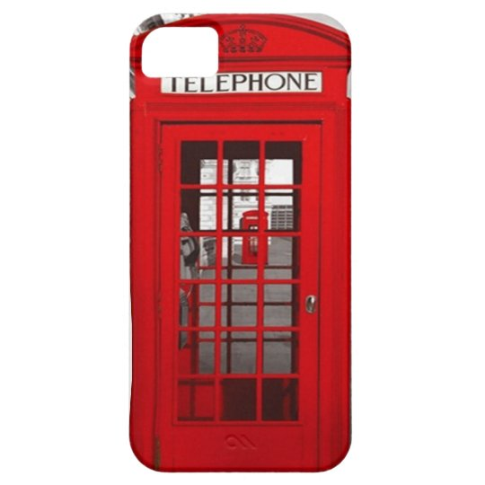 London Telephone Case For The iPhone 5