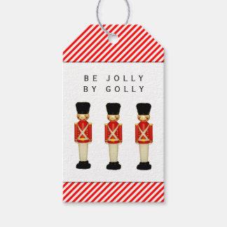 London Themed Christmas Gift Tags