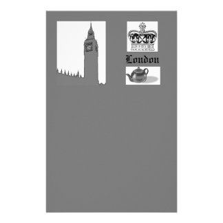 London Themed Stationery