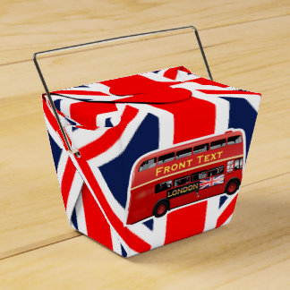 London Themed Wedding Favour Boxes