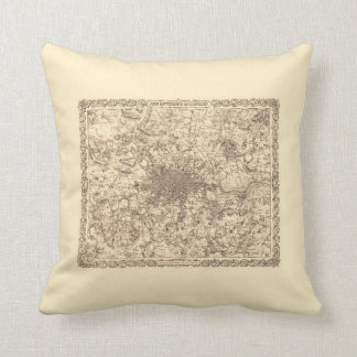 London - Throw Pillow
