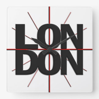London Timezone Wall Clock