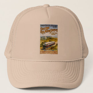 london to brighton trucker hat