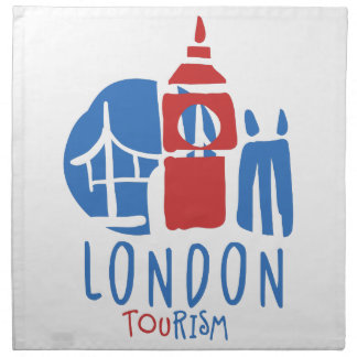 London tourism napkin