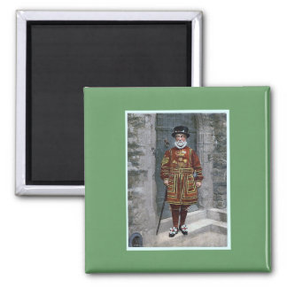 London Tower Beefeater Magnet