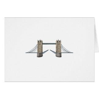 London Tower Bridge: 3D Model: Card