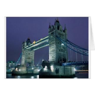 London - Tower Bridge Card