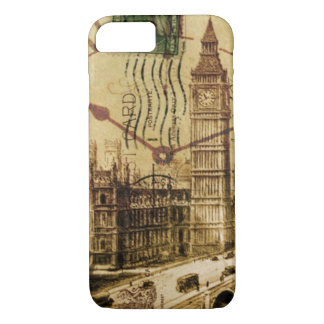 London Tower bridge clocktower big ben iPhone 8/7 Case