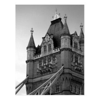 London Tower Bridge Close-up Postcard