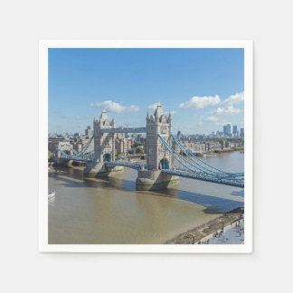 London Tower Bridge Disposable Napkin