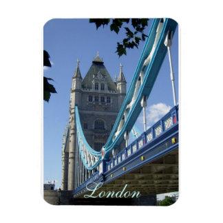 London, Tower Bridge. Rectangular Photo Magnet