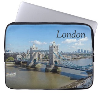 London Tower Bridge laptop sleeve