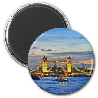 london tower bridge raised magnet