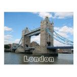 London Tower Bridge UK postcard
