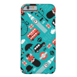 London travel icon retro illustration barely there iPhone 6 case