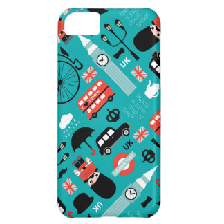 London travel icon retro illustration print iPhone 5C case