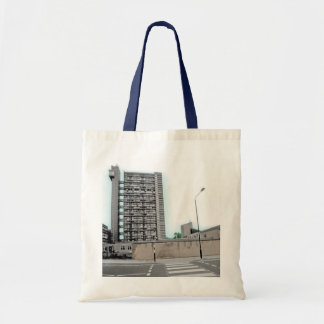 LONDON TRELLICK TOWER (MODERN URBAN DESIGN) TOTE BAG