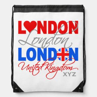 London UK custom monogram bag