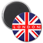 London UK Flag 6 Cm Round Magnet