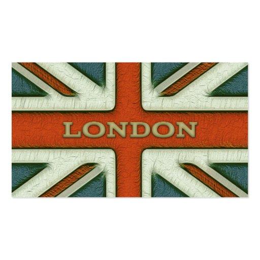 London UK Flag Business Card Template