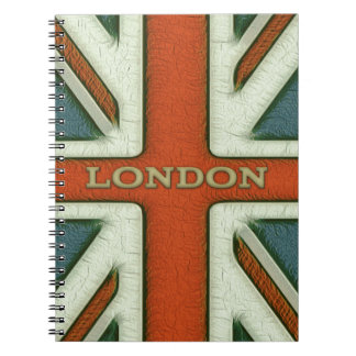 London UK Flag Notebook