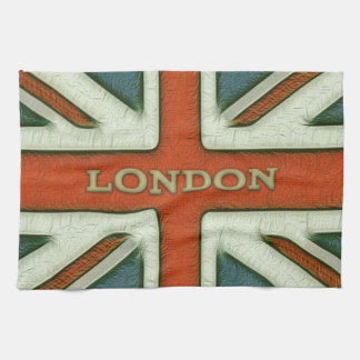London UK Flag Tea Towel