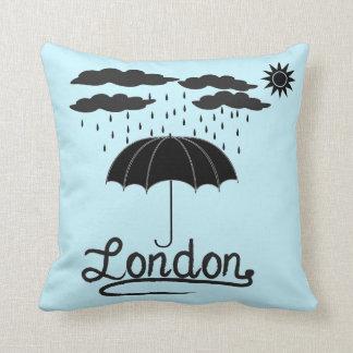 London | Under An Umbrella Throw Pillow