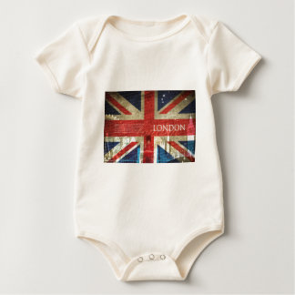 London Union Jack Baby Bodysuit